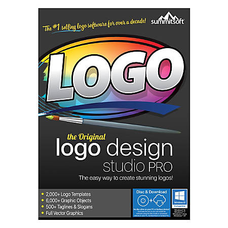 Summitsoft® Logo Design Studio Pro, Traditional Disc