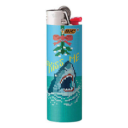BIC® Special Edition Holiday Series Pocket Lighter, Assorted Designs
