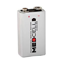 Medcell Advantage 9 Volt Alkaline Batteries