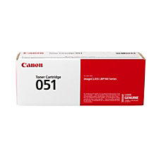 Canon CRG 051 Black Toner Cartridge