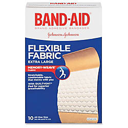 Band Aid Brand Flexible Fabric Extra