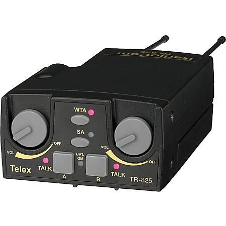 RTS TR-825 UHF Two-Channel Binaural Wireless Beltpack - Beltpack