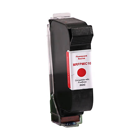 Clover Imaging Group MRFPMIC10 (PMIC10) Remanufactured Fluorescent Red Postage Meter Ink Cartridge