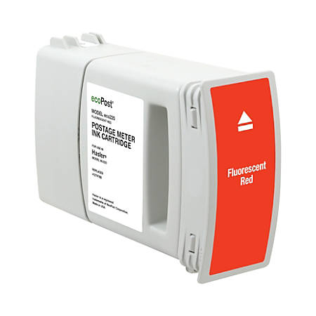Clover Imaging Group MRH7978 (Hasler 4127978B) Remanufactured Fluorescent Red Postage Meter Ink Cartridge