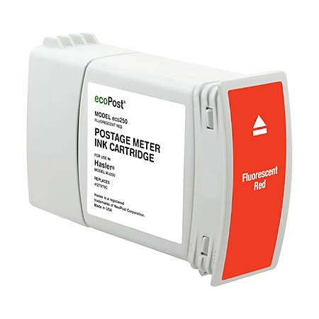 Clover Imaging Group MRH7979 (Hasler 4127979C) Remanufactured Fluorescent Red Postage Meter Ink Cartridge