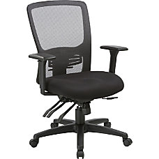 Lorell High Back Mesh Chair Black