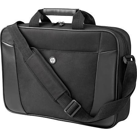 "HP Essential Carrying Case (Messenger) for 17.3"" Notebook - Foam Interior - Shoulder Strap - 12"" Height x 16.8"" Width x 3.5"" Depth"