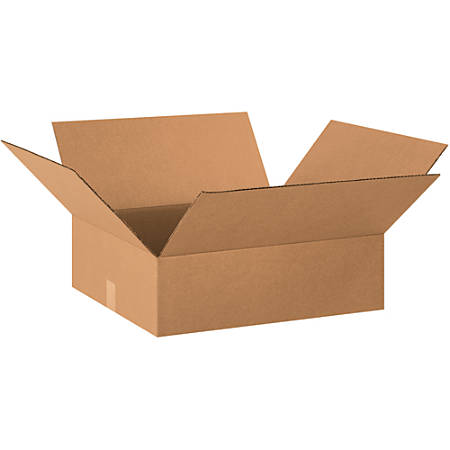 Office Depot Brand Corrugated Boxes Flat 4 H X 18 W X 20 D