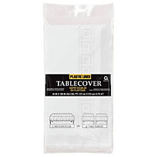 Amscan Plastic Table Covers 108 x