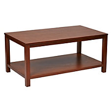 Ave Six Merge Cocktail Table Rectangular