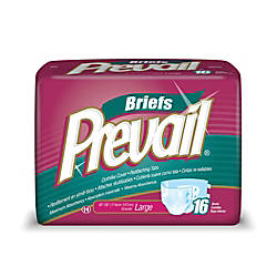 Prevail Adult Briefs Large 45 58