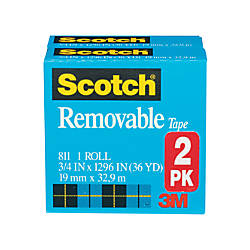 Scotch Magic 811 Removable Tape 34