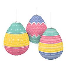 Amscan Easter Pretty Pastels Egg Shaped
