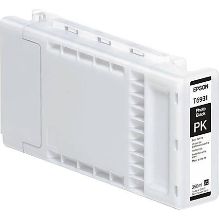 Epson T6931 - 350 ml - photo black - original - ink cartridge - for SureColor SC-T3000, SC-T3200, SC-T5000, SC-T5200, SC-T7000, SC-T7200, T3270, T5270, T7270