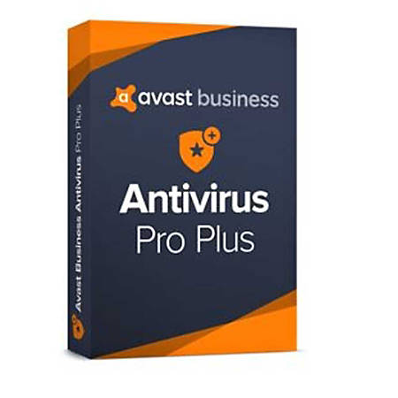 Avast AntiVirus Pro Plus Business Edition 2019- 10 User 12 Months, Download Version