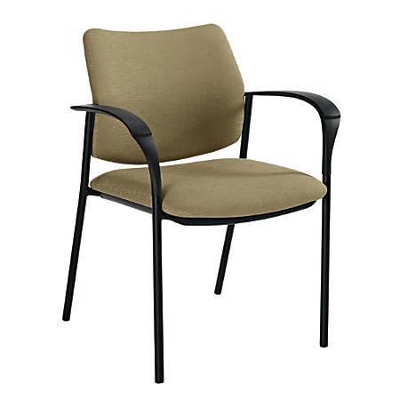 "Global® Sidero Armchair, 32""H x 25 1/2""W x 24""D, Beach Day/Black"