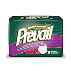 Prevail Protective Underwear Adjustable Large 44