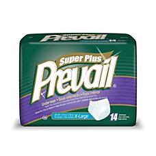 Prevail Protective Underwear Super Plus X