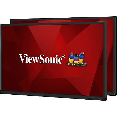"Viewsonic VG2448_H2 24"" Full HD WLED LCD Monitor - 16:9 - 1920 x 1080 - 16.7 Million Colors - 250 Nit - 5 ms GTG (OD) - HDMI - VGA - DisplayPort"