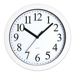Realspace Round Quartz Analog Wall Clock