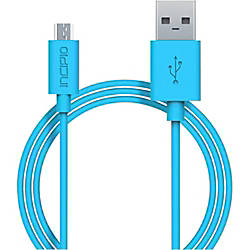 incipio chargesync micro usb cable by office depot officemax. Black Bedroom Furniture Sets. Home Design Ideas