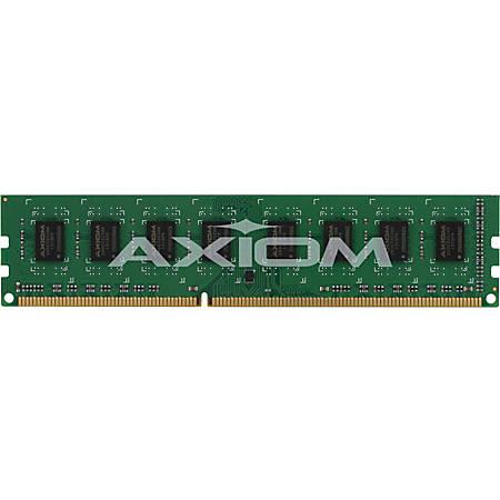 Axiom 4GB DDR3-1333 UDIMM for Lenovo - 0A36527, 89Y9224 - 4 GB (1 x 4 GB) - DDR3 SDRAM - 1333 MHz DDR3-1333/PC3-10600 - Non-ECC - Unbuffered - 240-pin - DIMM