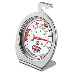 Rubbermaid RefrigeratorFreezer Monitoring Thermometer