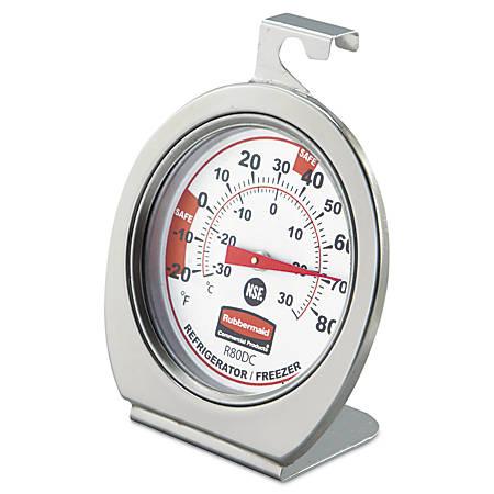 Rubbermaid® Refrigerator/Freezer Monitoring Thermometer