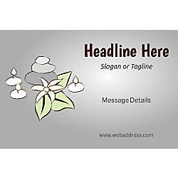 Custom Perforated Window Decal Template Spa