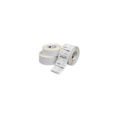 "Zebra Label, BM3302, Kimdura Polypropylene 3"" x 1"" Thermal Transfer PolyPro 4000T, 3"" Core"