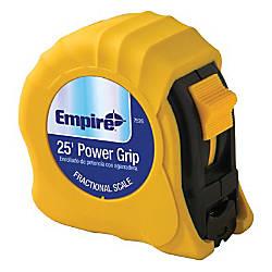 Empire Power Grip Tape Measure SAE