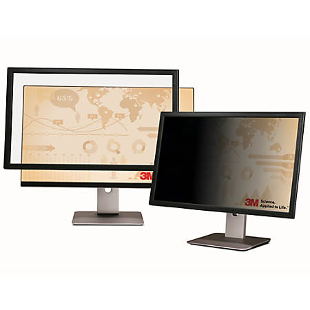 """3M™ Framed Privacy Filter Screen for Monitors, 17.0"""" Widescreen (16:10), PF170W1F"""