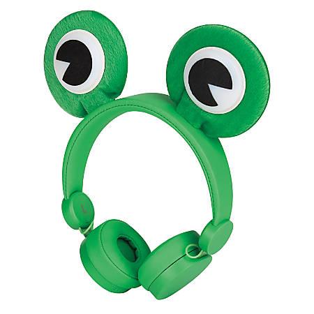 Ativa™ Lightweight Over-The-Ear Headphones, Frog, KD-21