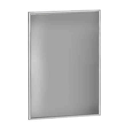 "Azar Displays Large-Format Steel Vertical/Horizontal Snap Frame, 36"" x 24"", Silver"
