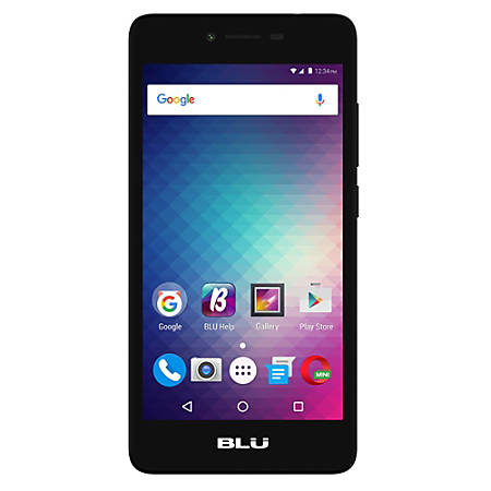 BLU Studio G2 Cell Phone, Black, PBN201095