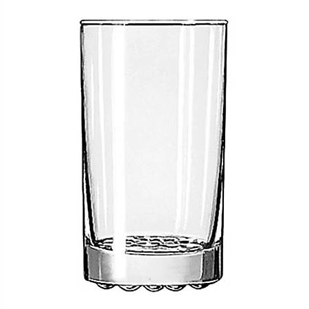 Libbey Nob Hill Beverage Glasses, 11.25 Oz. Clear, Pack Of 24 Glasses