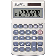 Sharp Calculators Sharp EL240SAB Handheld Calculator
