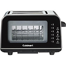Cuisinart ViewPro Glass 2 Slice Toaster