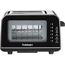 Cuisinart ViewPro Glass 2 Slice Toaster