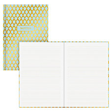 Blue Sky Gold Geo Bookbound Notebook