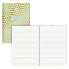 Blue Sky Gold Geo Bookbound Notebook