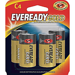 Eveready Gold Alkaline C Batteries C