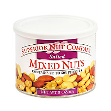 Superior Nut Nuts Salted Mixed Nuts