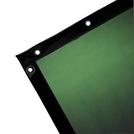 Wilson Industries See-Thru Welding Curtain, 6' x 8', Green