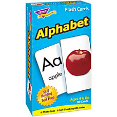 TREND Alphabet Skill Drill Flash Cards
