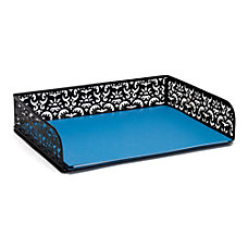 Realspace Brocade Document Tray Black