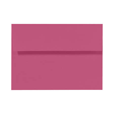 "LUX Invitation Envelopes With Peel & Press Closure, A1, 3 5/8"" x 5 1/8"", Magenta, Pack Of 50"