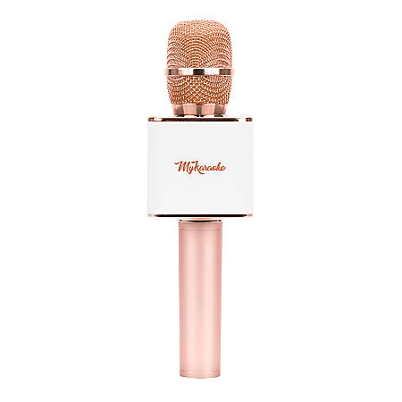 My Karaoke Pro Wireless Microphone, Rose Gold Item # 7078543