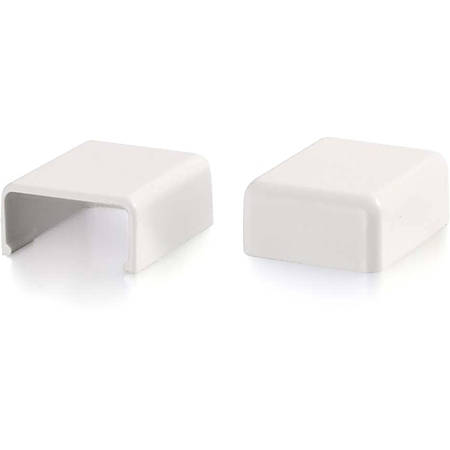 C2G Wiremold Uniduct 2700 Blank End Fitting - White