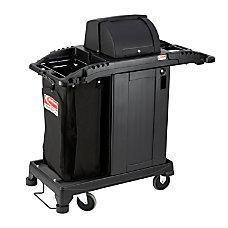 Suncast Commercial Plastic Cart Compact Premium